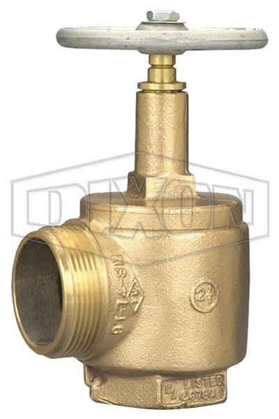 Domestic Brass Angle Hose Valve Male Outlet