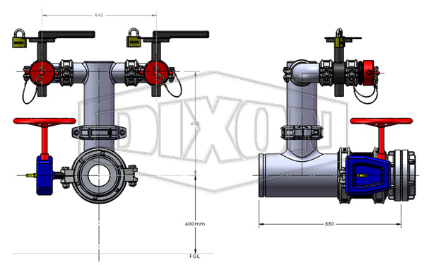 SA Tank Suction Assembly