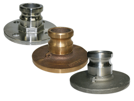 Dixon® Cam & Groove Adapter x Table D/E Flange