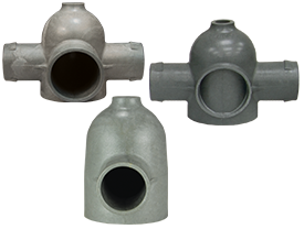 Grey Fluidizer Manifold