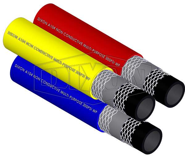 Rubber Multi-Purpose Non-Conductive Hose (A104)