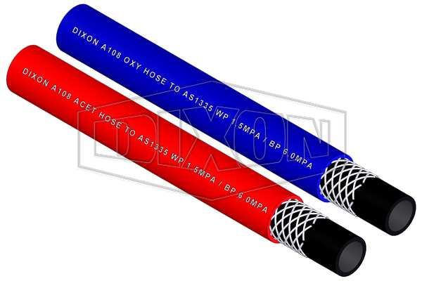Rubber Single Line Welding Hose (A108)