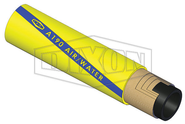 Rubber Super Air & Water Delivery Hose (A190)