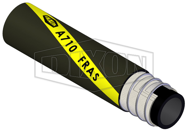 Rubber FRAS Air & Water Suction & Delivery Hose (A710)