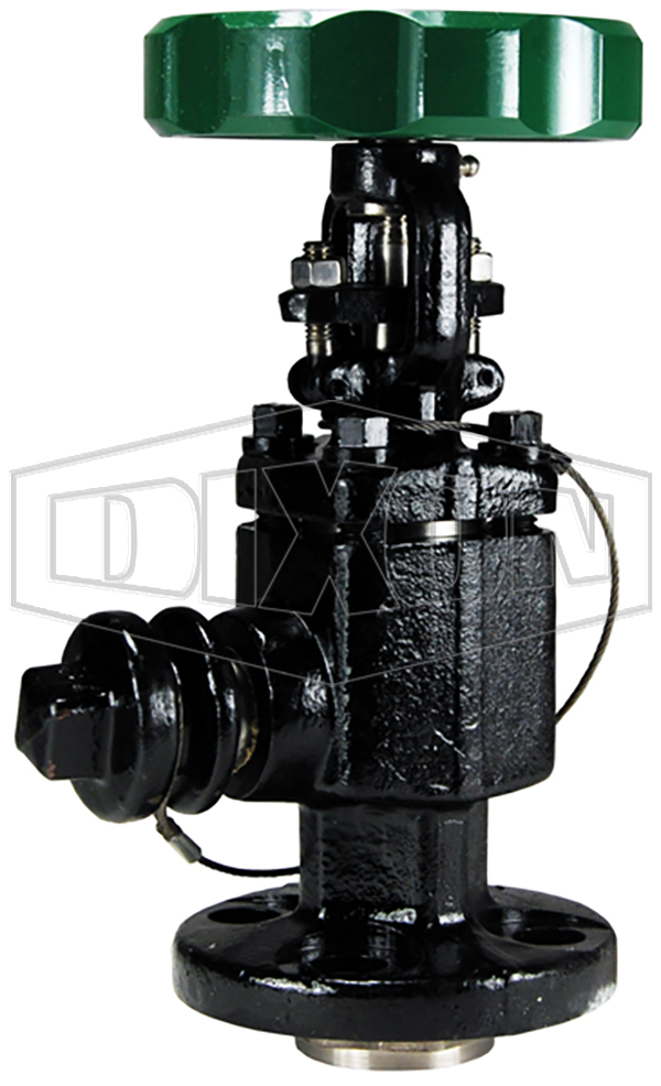 Angle Valve for Chlorine Railcars