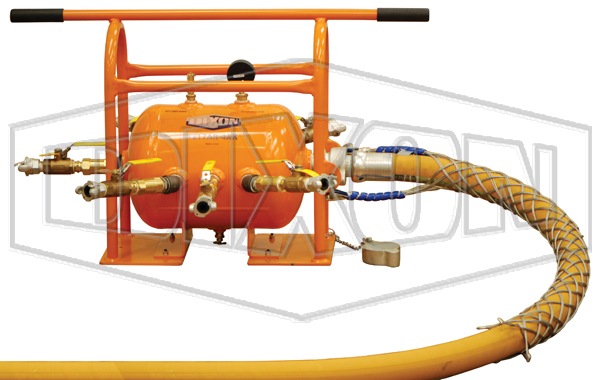 ASME Air Tank Receiver Manifold with King™ Safety Whipsock for Supply Hose