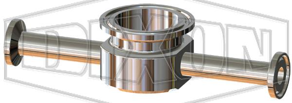 BioPharm Clamp Instrument Tee