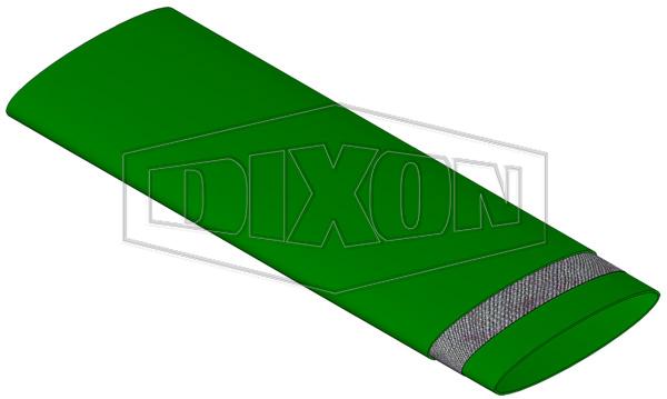 Extra Heavy Duty Green Mining Layflat Hose