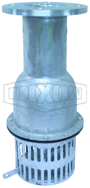 Foot Valve with Flange Table D