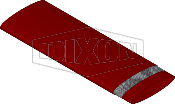 Heavy Duty Red Layflat Hose