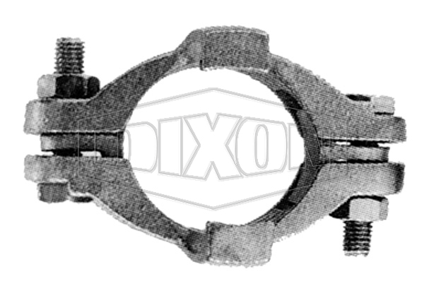 Double Bolt Clamp with Safety Claw