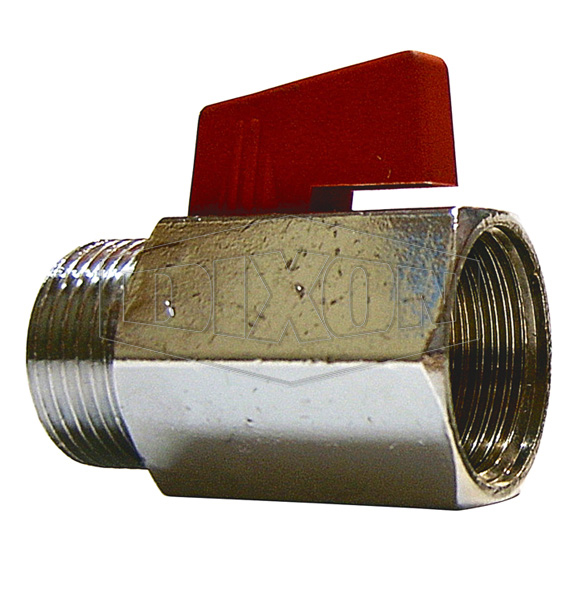 Mini Ball Valve Male x Female BSP