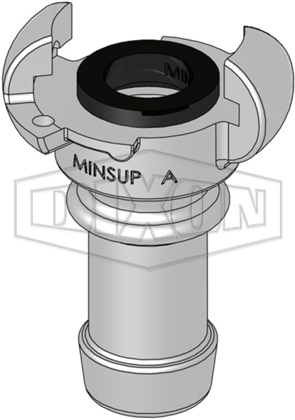 Minsup A Type Hose End