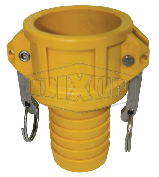 Nyglass Cam & Groove Type C Coupler x Hose Shank