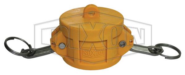 Nyglass Cam & Groove Type DC Dust Cap