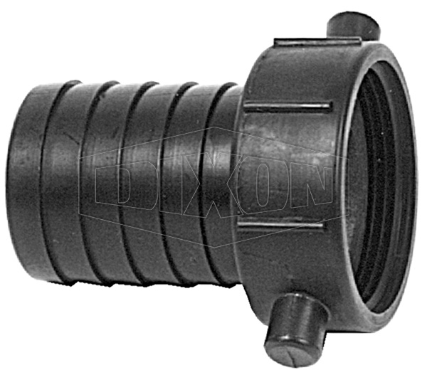 Nylon Nut & Tail Female Coupling BSP