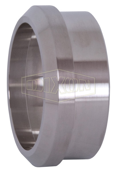 Recessed Plain Bevel Seat Weld Ferrule