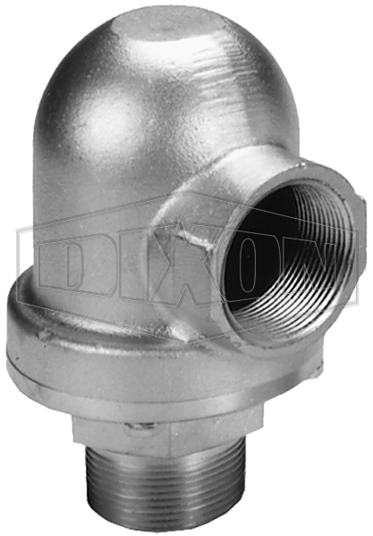 Vacuum Relief Valve Male Outlet