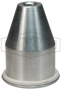 Fluidizer Hopper Plug with Gasket