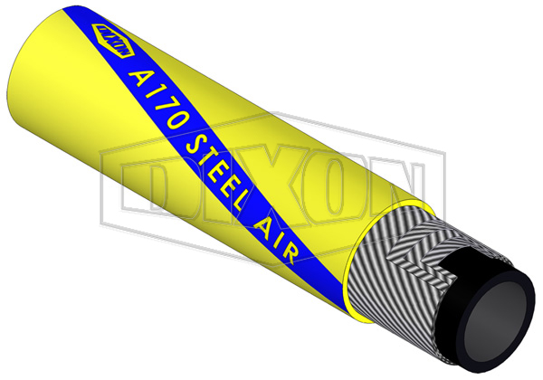 Rubber Steel Heavy Duty Air Hose A170