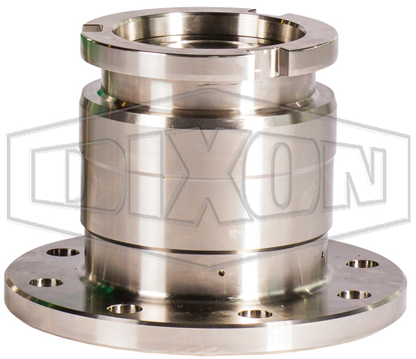 Mann Tek Cryogenic Dry Disconnect Adapter-Tank Unit x 150# Flange
