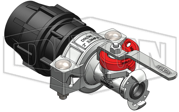 63mm Plasson® with 25mm Minsup® Surelock™ Econovalve™ Header Assembly