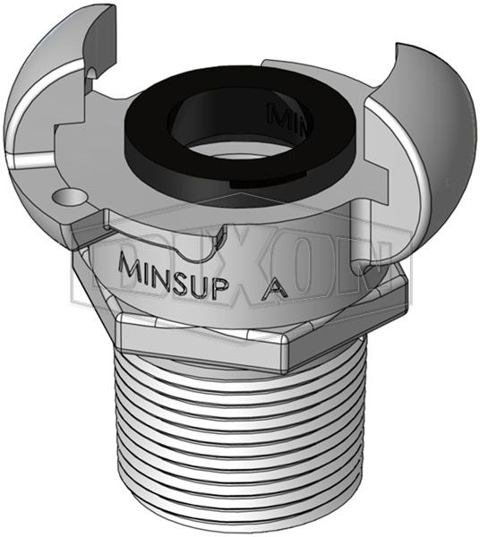 Minsup A Type Male NPT End
