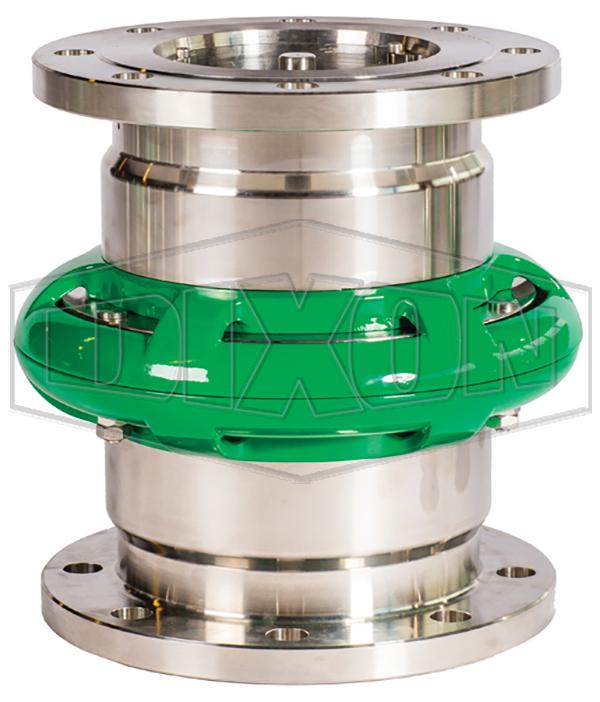 Mann Tek Cryogenic Safety Break-away Coupling-150# Flange