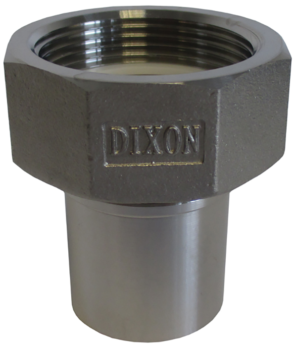 smooth tail couplings nickel plated brass female
